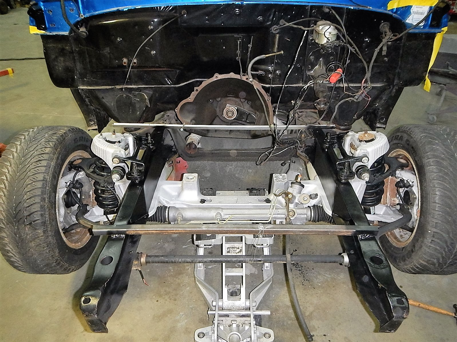 1968 Ford F-100 Front End Swap - Mercury Crown Vic  067.jpg