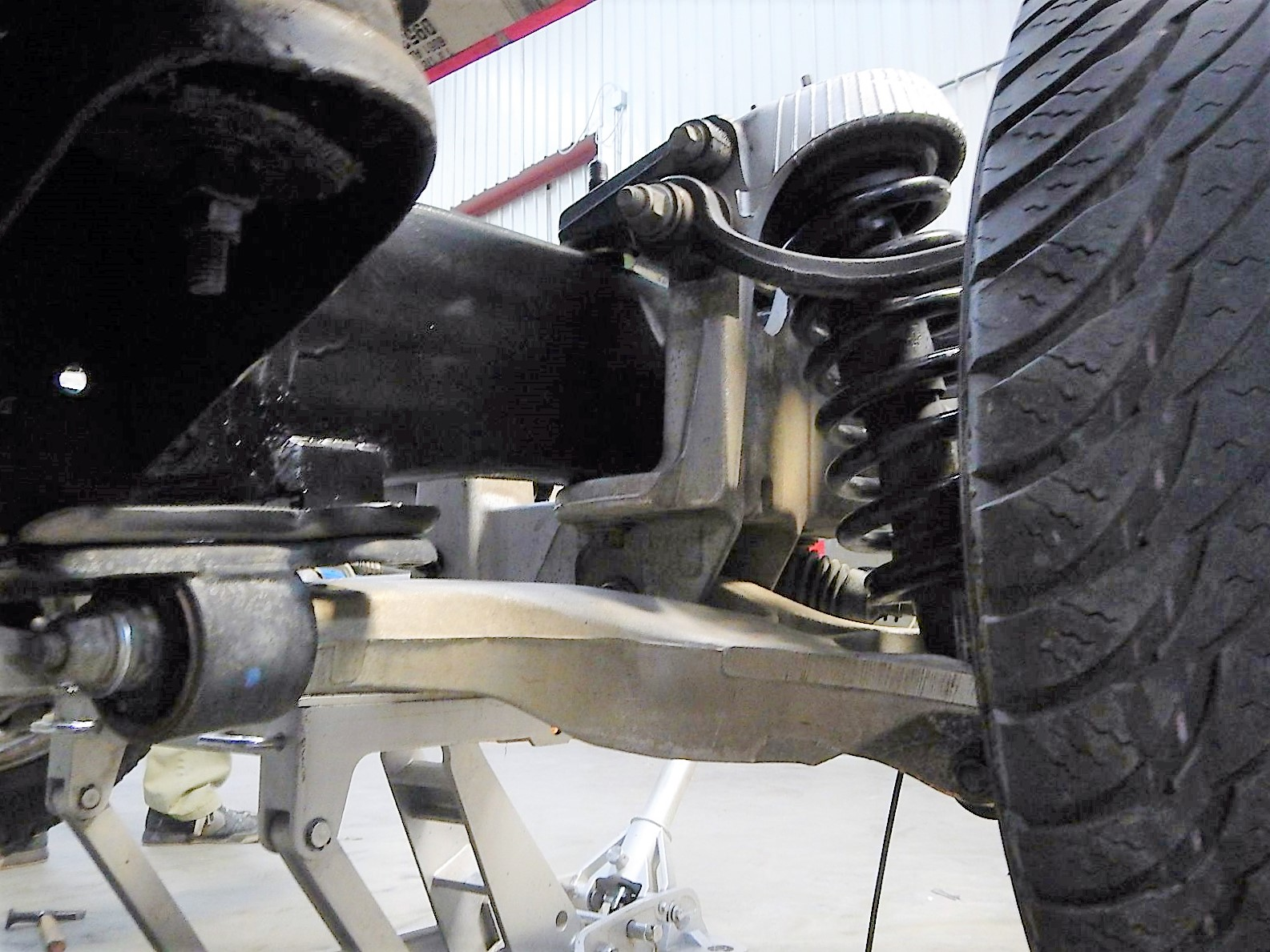 1968 Ford F-100 Front End Swap - Mercury Crown Vic  077.jpg