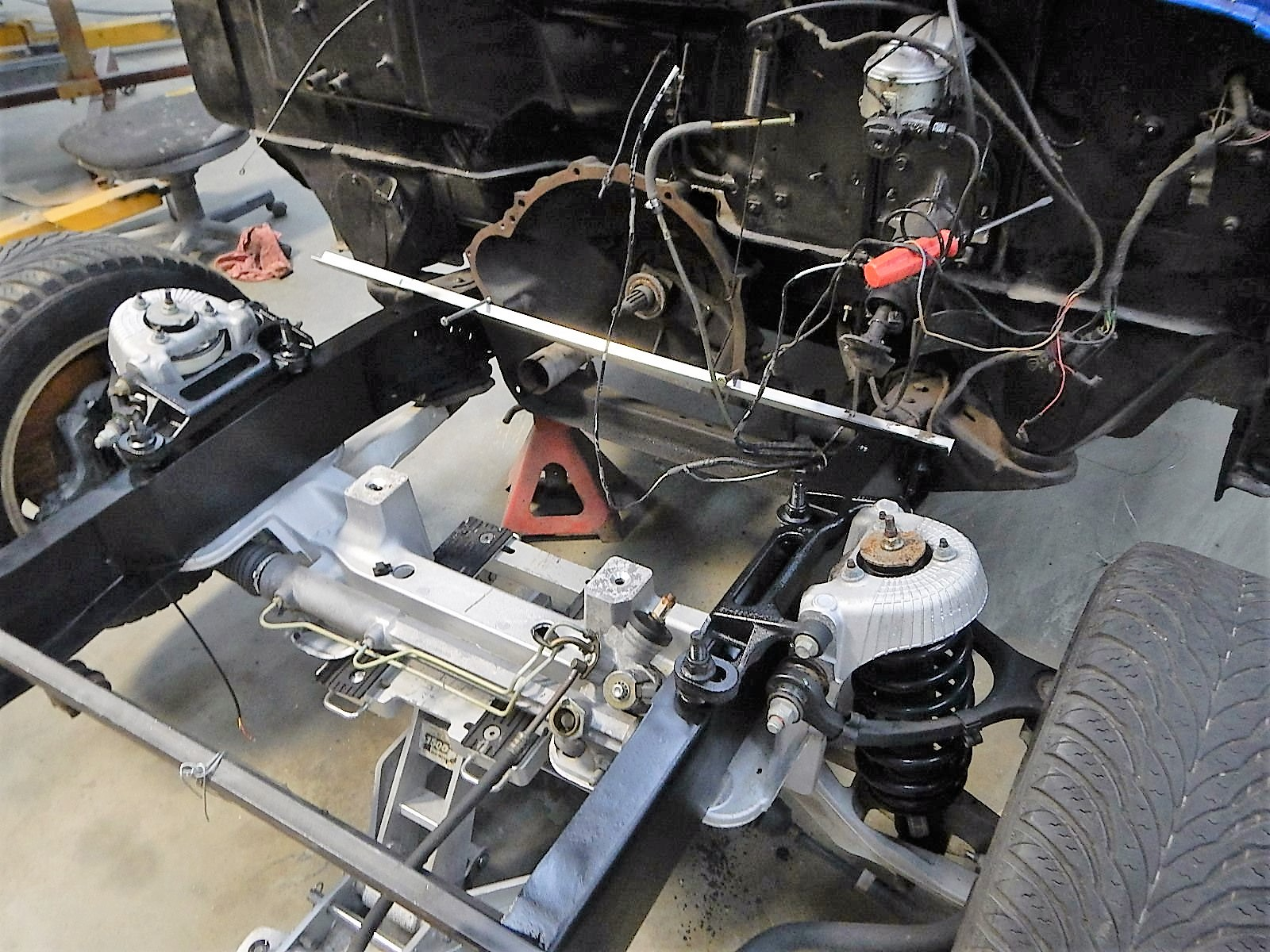 1968 Ford F-100 Front End Swap - Mercury Crown Vic  079.jpg