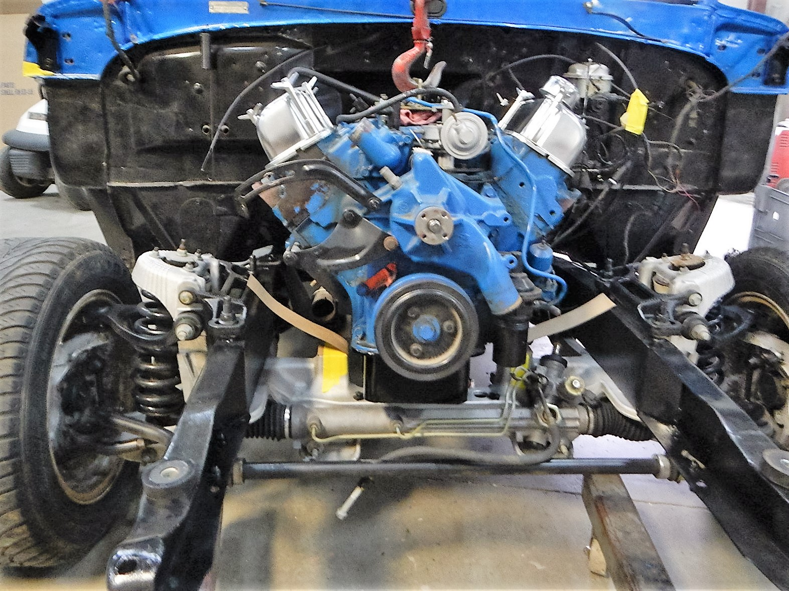 1968 Ford F-100 Front End Swap - Mercury Crown Vic  085.jpg