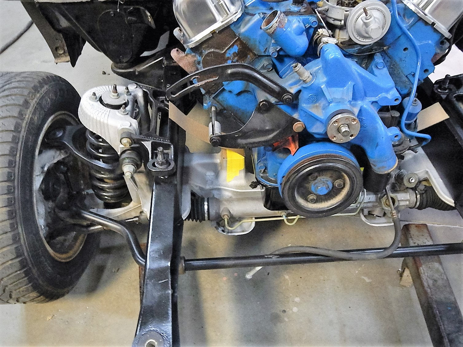 1968 Ford F-100 Front End Swap - Mercury Crown Vic  087.jpg