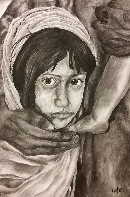 """Syrian Child"" By Chloe Glass"