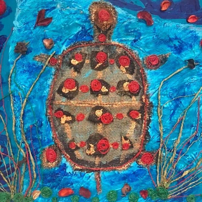 """Rose Shell"" By Christine Stoddard"
