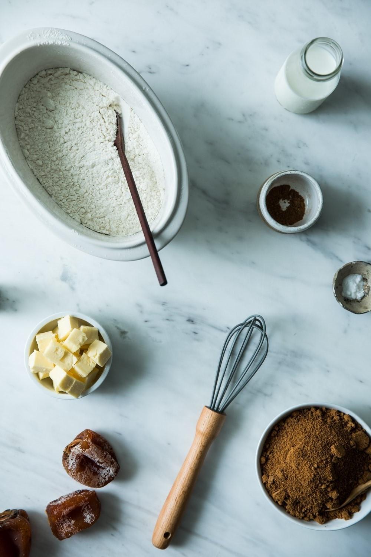 Sticky Persimmon Pudding w/ Gula Melaka Butterscotch