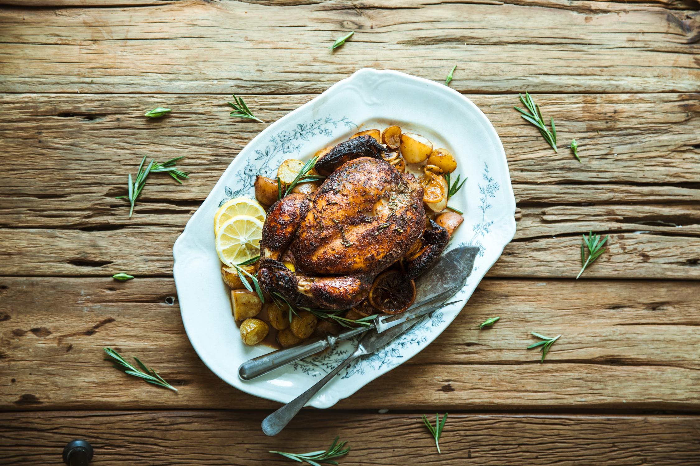 5 Spice Roast Chicken
