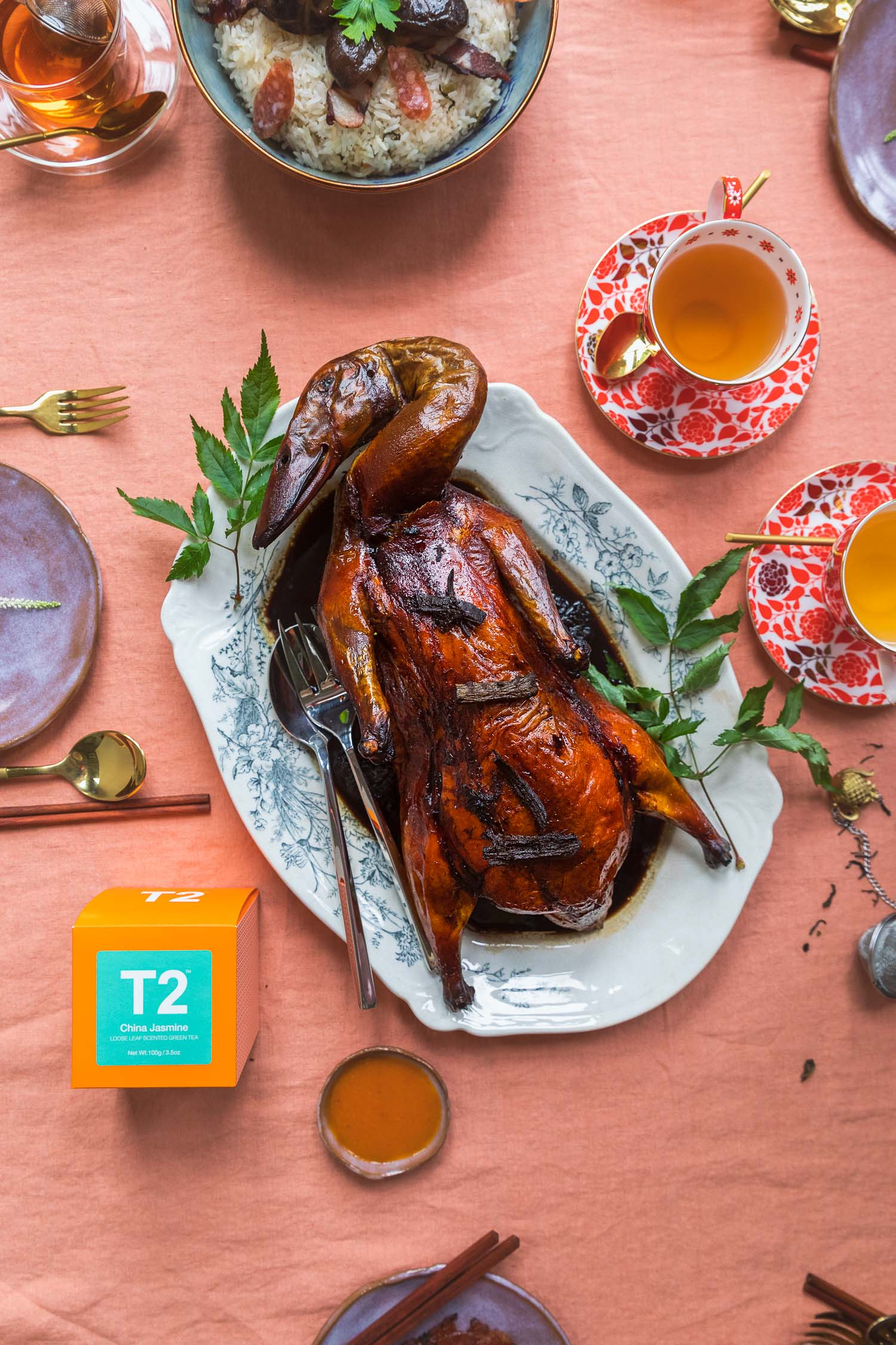 Chinese New Year 2019: T2 Food Pairing