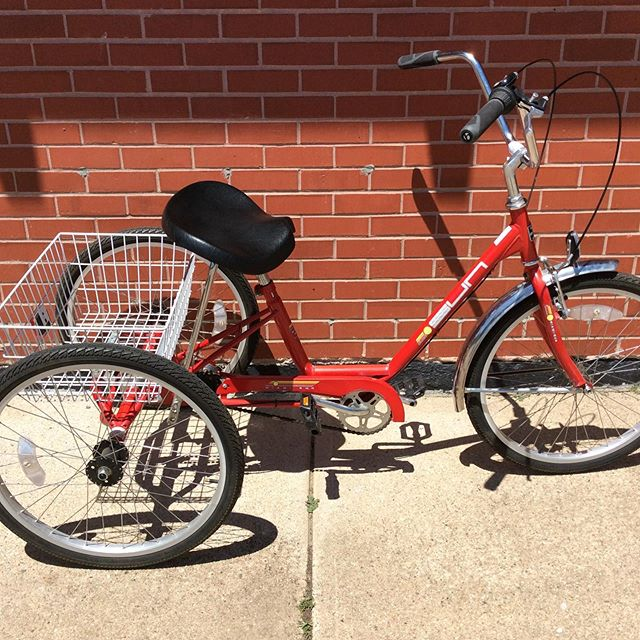 Just in used Sun Trike $300.  We are open Tue-Sat 10 - 5.
