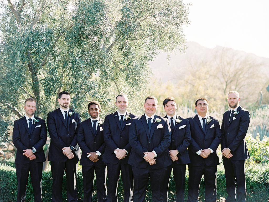 Groomsmen in classic black and white.jpg