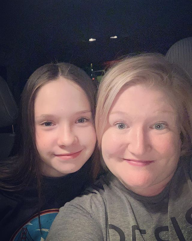 Me and Mini Me fresh from the salon!