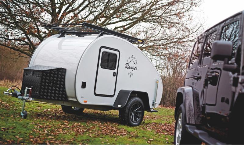 Hero Camper er designet og produsert i Danmark. Med sin lave vekt og ergonomiske design passer den til alle.