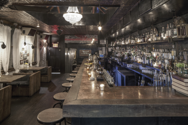 THE GARRET BAR WEST  NEW YORK, NY  2014
