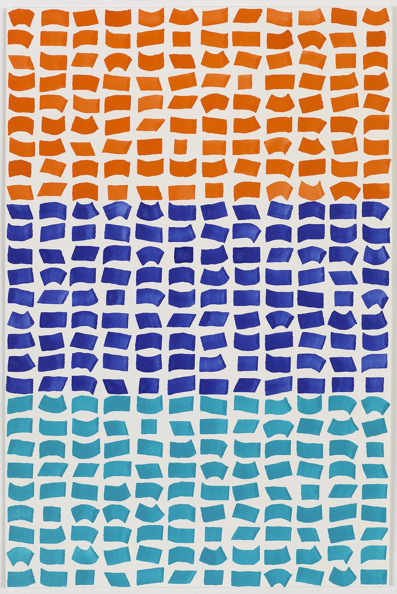Orange/Blue/Turquoise 108  2016