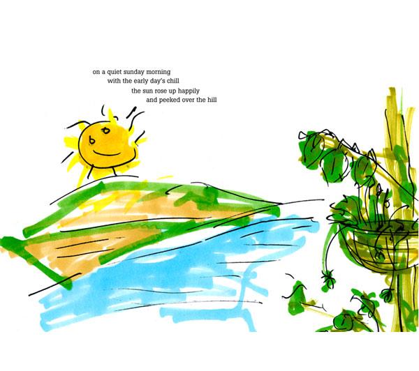 Juan Carlos' doodling