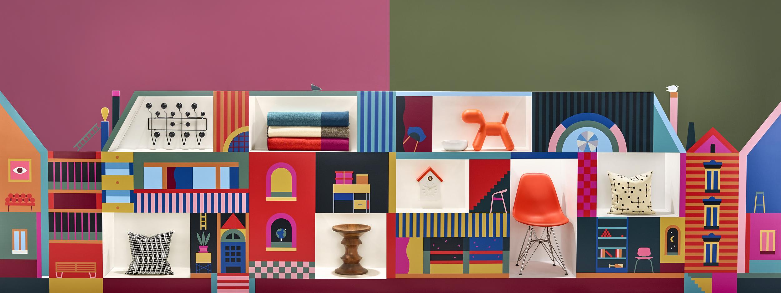 Inspired Gifts Campaign. Illustration: Lotta Nieminen