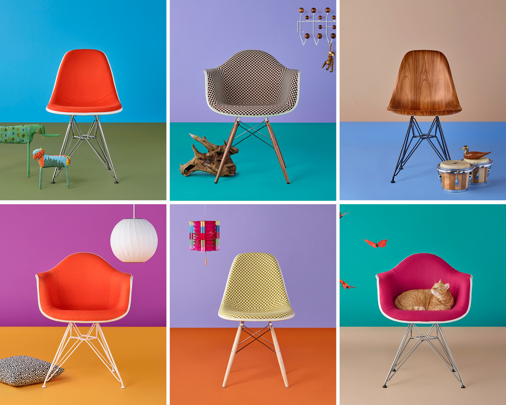 Eames Shell Chair Campaign