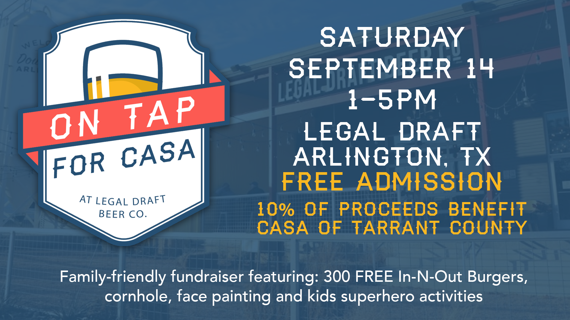 On Tap For CASA — CASA of Tarrant County