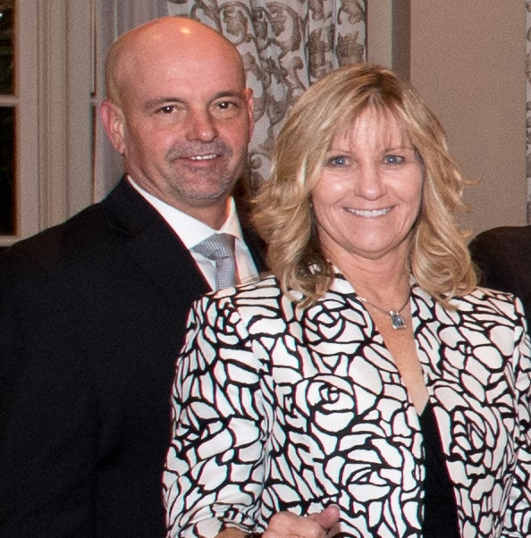 Tim Boney and his wife and Helping Heart, Tanja Boney