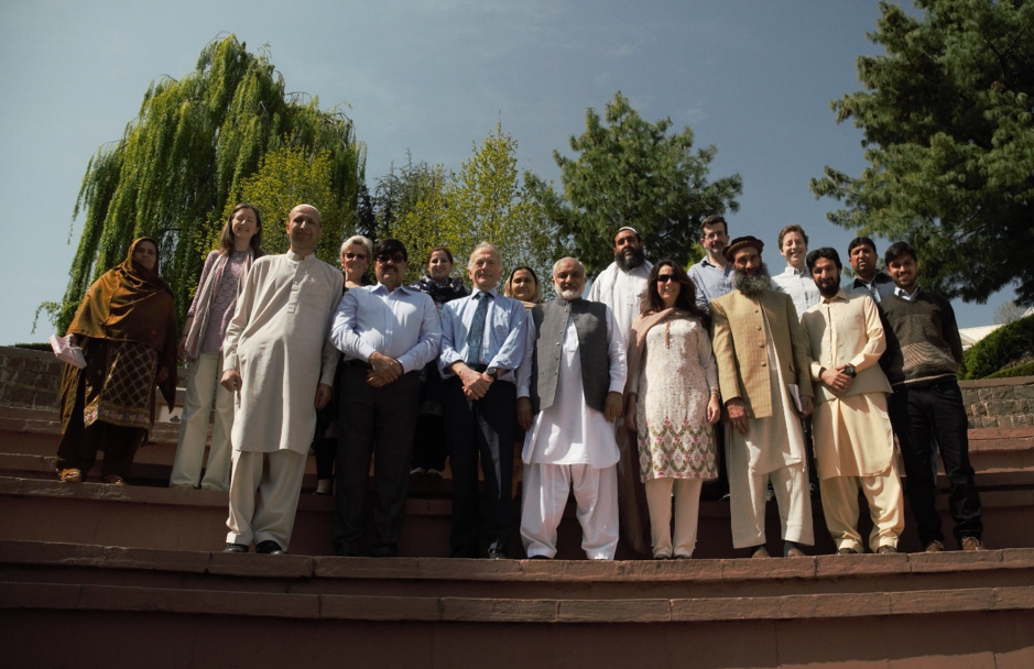 Research team meeting in Islamabad in 2018