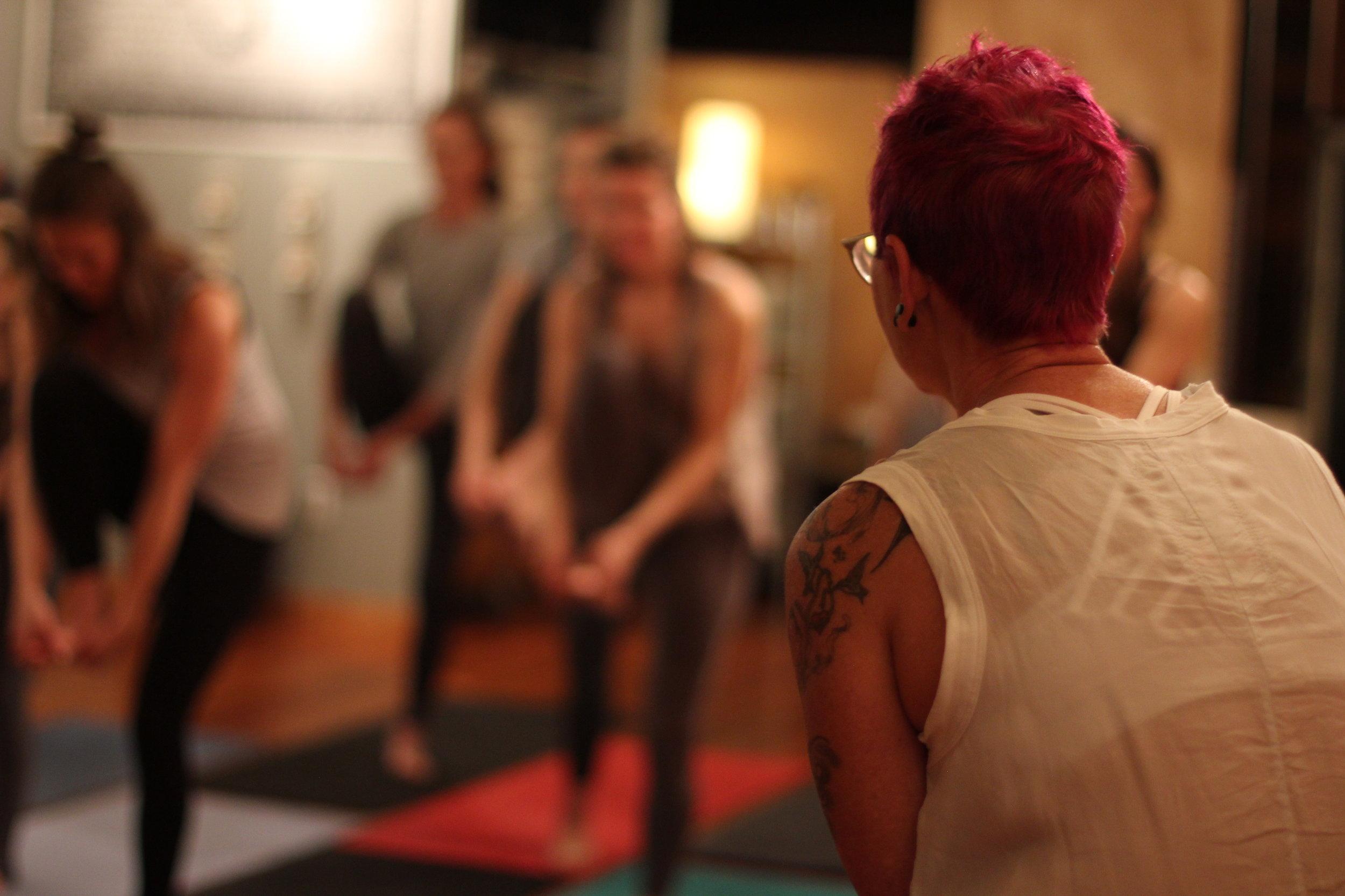 hatha yoga MBCY style