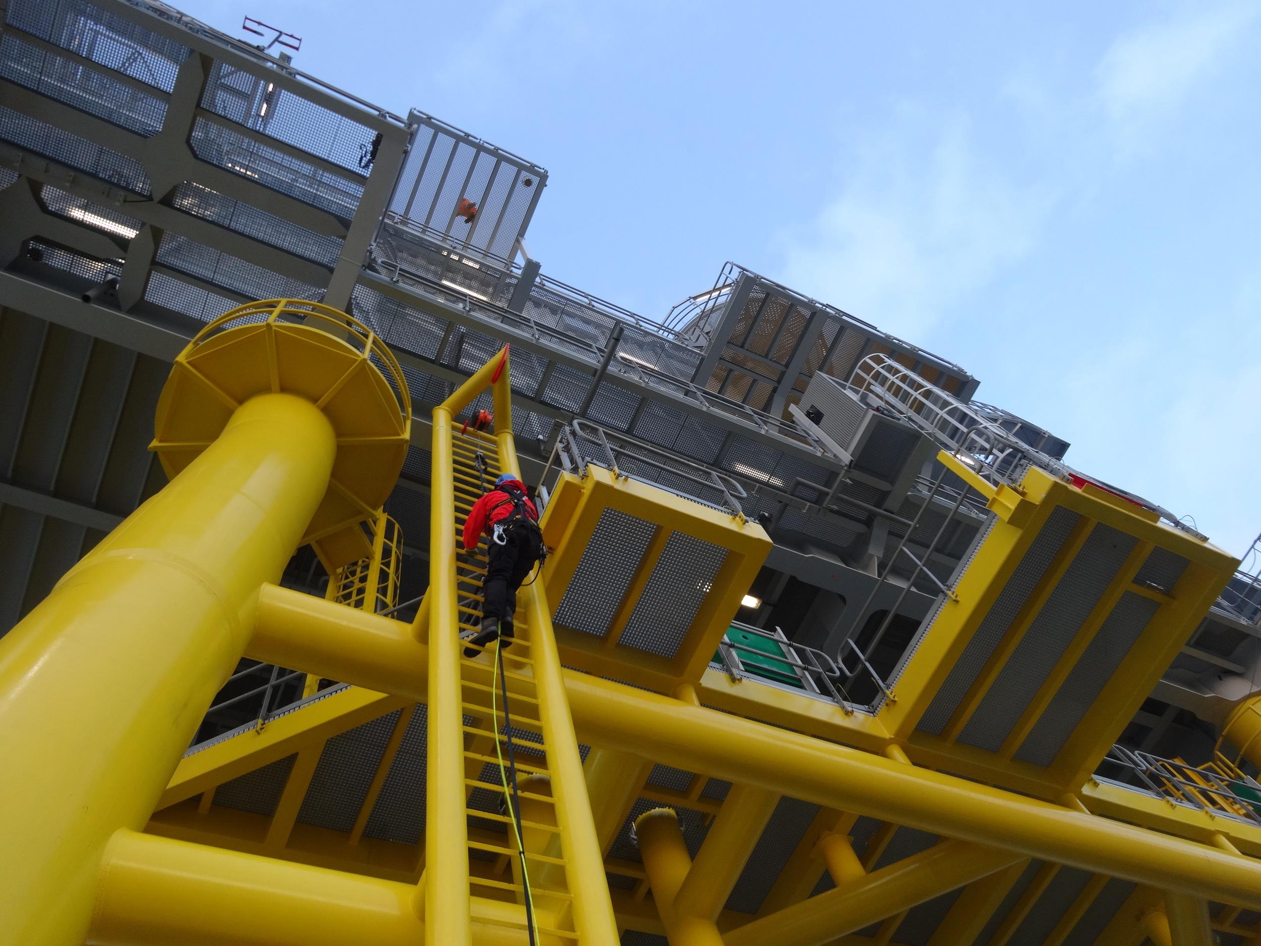 Van de CTV de OHVS op klimmen