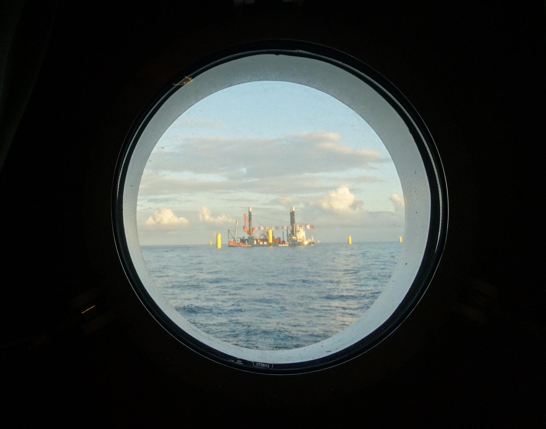 Kleine wereld aan boord