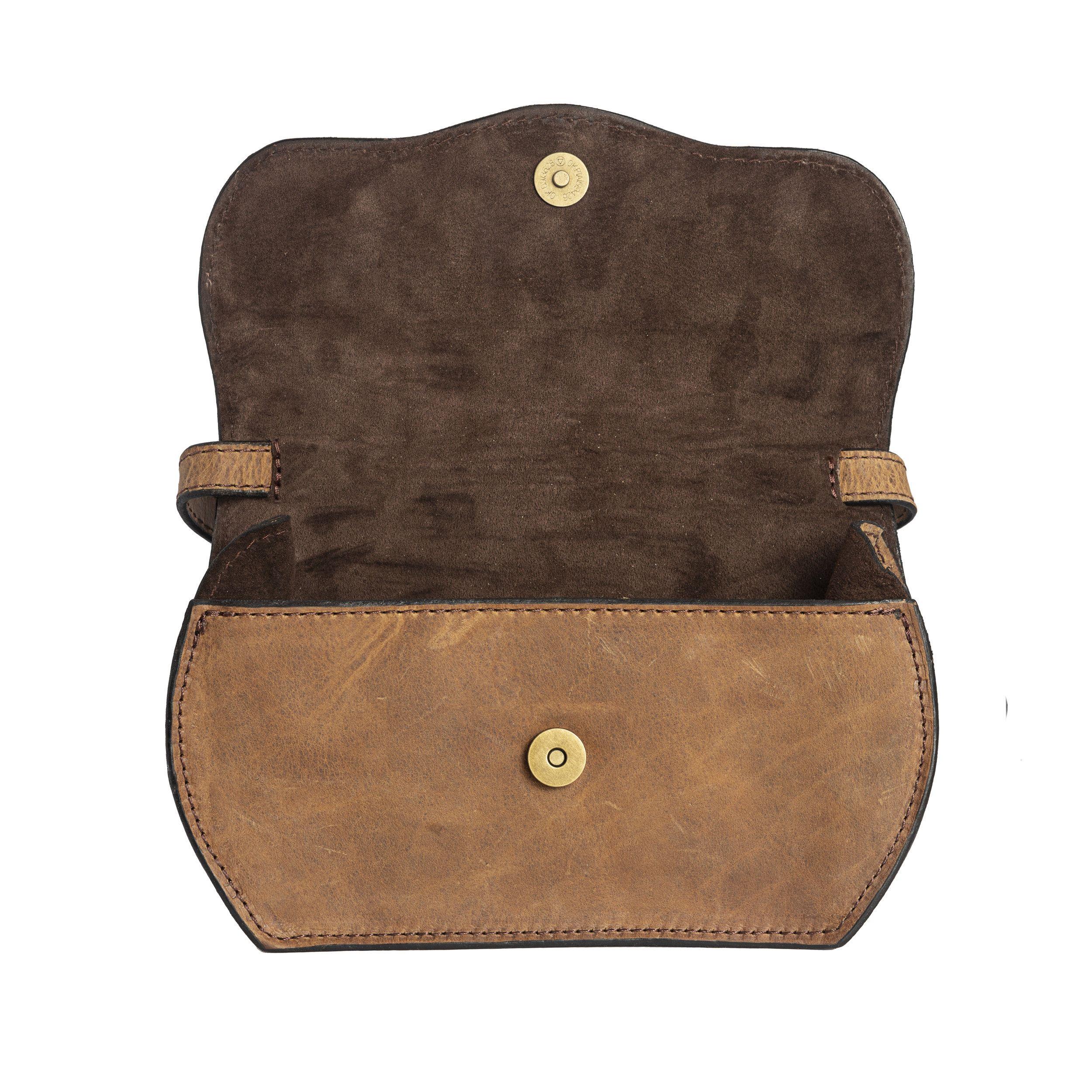 the heritage hip pack interior -
