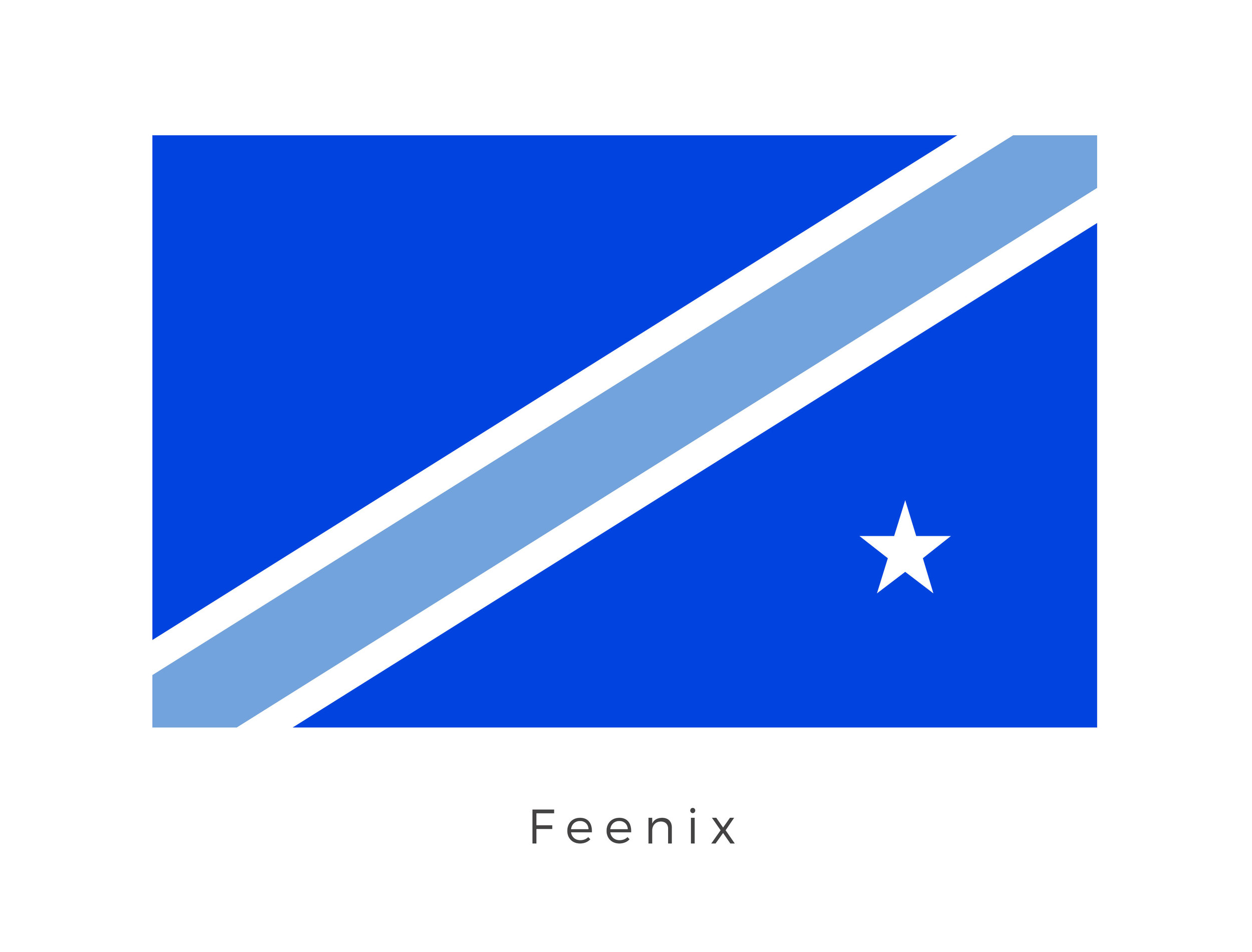 Feenix  was a planet in the Mid Rim's D'Aelgoth sector. It was a member of the Galactic Republic and later the Galactic Empire. The deep blue on the flag is that of the Galactic Republic while the band and star signifies the planets relationship within the D'Aelgoth sector.