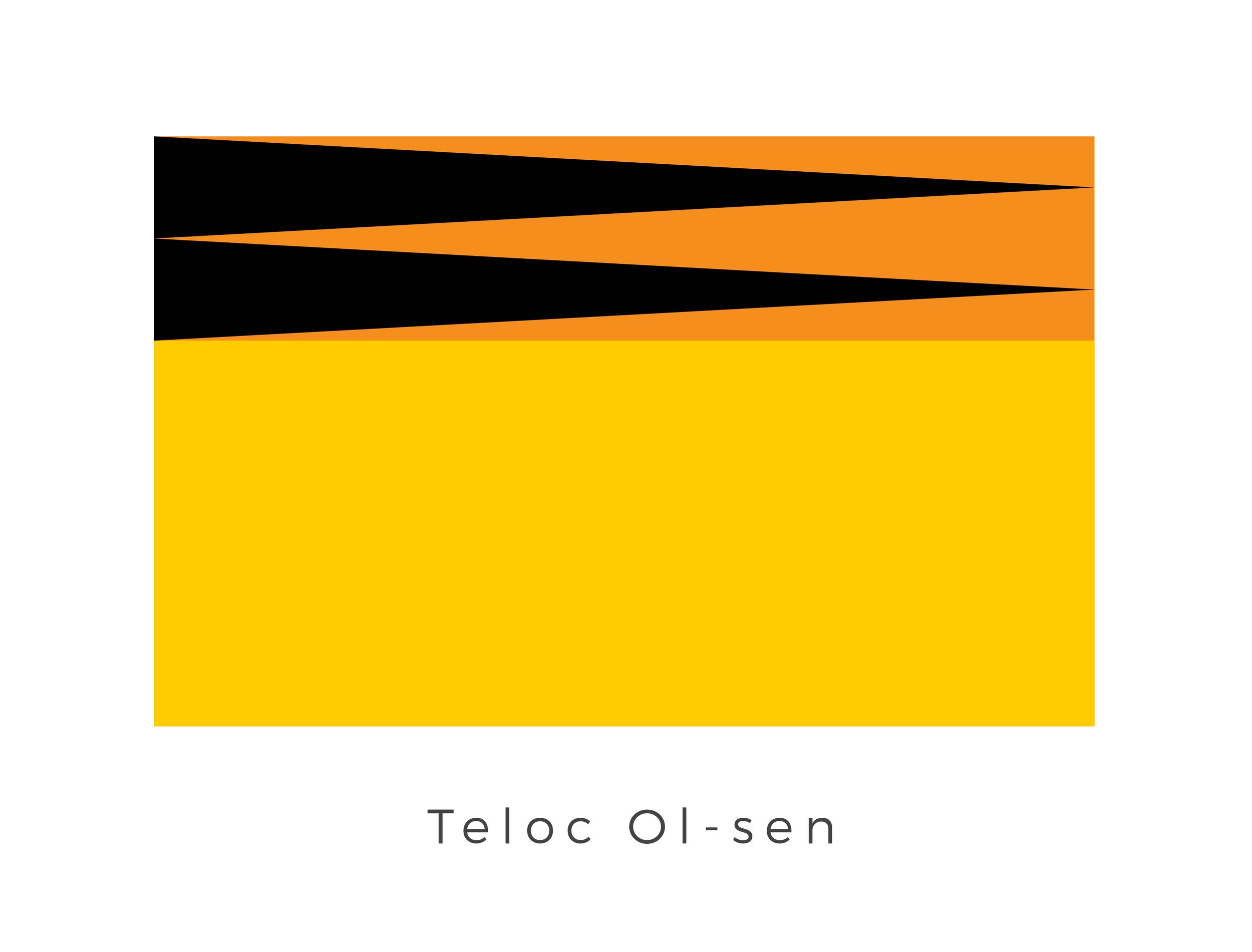 Teloc Ol-sen  was a desert planet located within the Teloc Ol-sen system of the Mid Rim that was inhabited by the Teloc Hunters. At some point before 2 ABY, the vigilante group known as the Zulirian Swordmasters fought and massacred a Rebel cell on Teloc Ol-sen. Members of Alliance Intelligence later wrote a report on this event. The aggressive black and orange shapes on the top of the flag are that of the Zulirian Swordmasters while the plain of orange represents the desert surface of the planet.