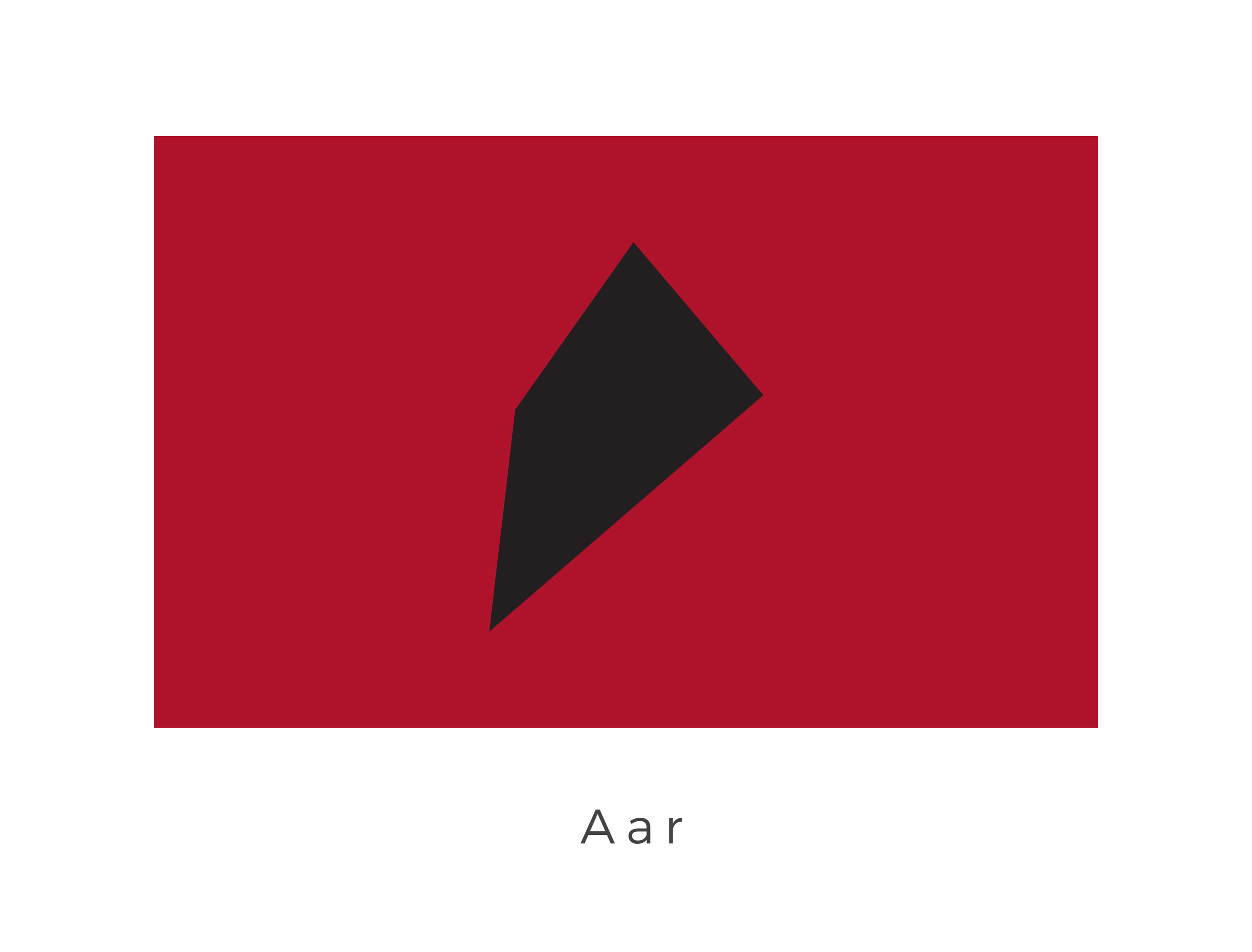 Aar  was a planet in the Aar system of the Nijune sector, part of the Outer Rim Territories. It was homeworld to the Aar'aa species, reptilian sentients often employed as enforcers by the Hutts, a species known for its many crime lords. The red of the flag is taken from the colour of the Aar'aa species eyes and symbolises the agressive nature of the planet.