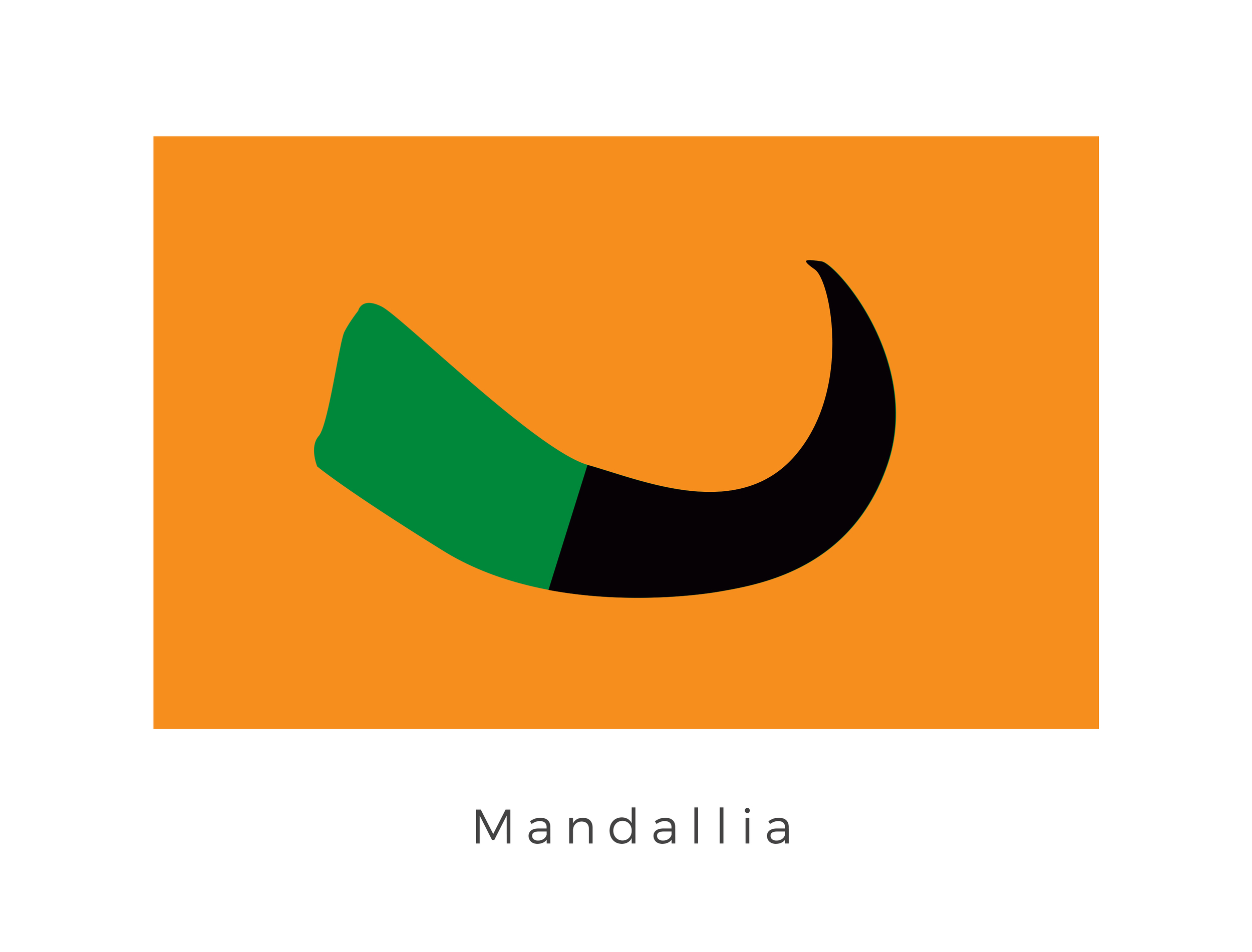Mandallia  was a planet located in the Mandalore system of the Outer Rim Territories. The homeworld of the Mandallian Giants, a race of physically large and muscular beings raised from birth as warriors, Mandallia was the neighbor world of the Mandalorian's home planet, Mandalore. The two worlds became associated after a failed invasion by the ancient Mandalorian Crusaders displayed the prowess of Mandallia's inhabitants, earning the Mandallian Giants the respect of the Mandalorians. Mandallia became a part of Mandalorian space following the Mandalorians' conquest of expansion during the early years of the Galactic Republic, with many Mandallians having earned the right to join the Mandalorians and fight alongside the original Taung race. The tusk symbol is that of the Mandalore. This was adopted when the planets became jointly associated.