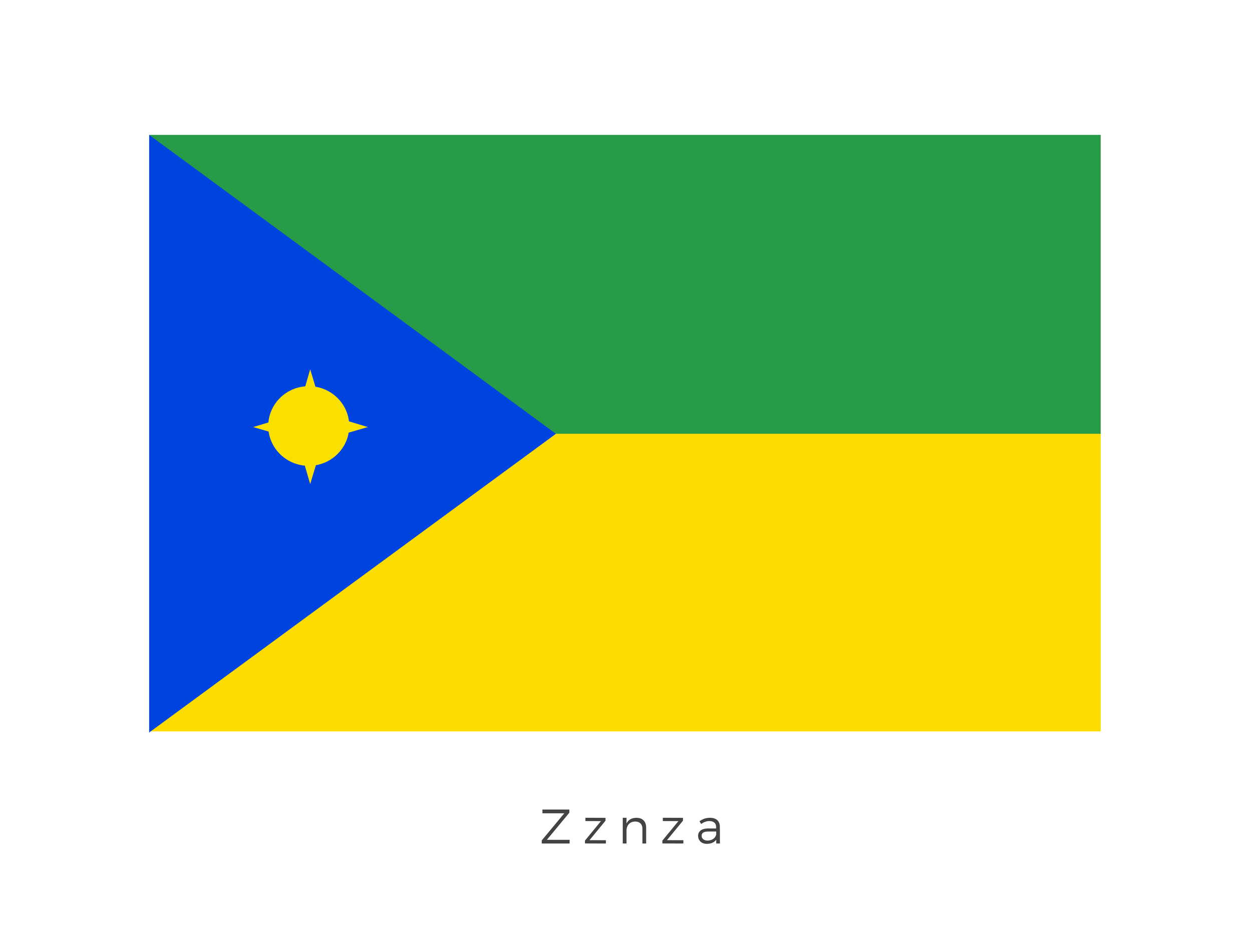 Zznza  was a planet located in the Yminis sector of the Outer Rim Territories. The Zznza system was a star system located within the Yminis sectorof the Outer Rim Territories. It contained the planet Zznza. The design of the flag follows the tradition of the native species of the Yminis sector: the Forshul.