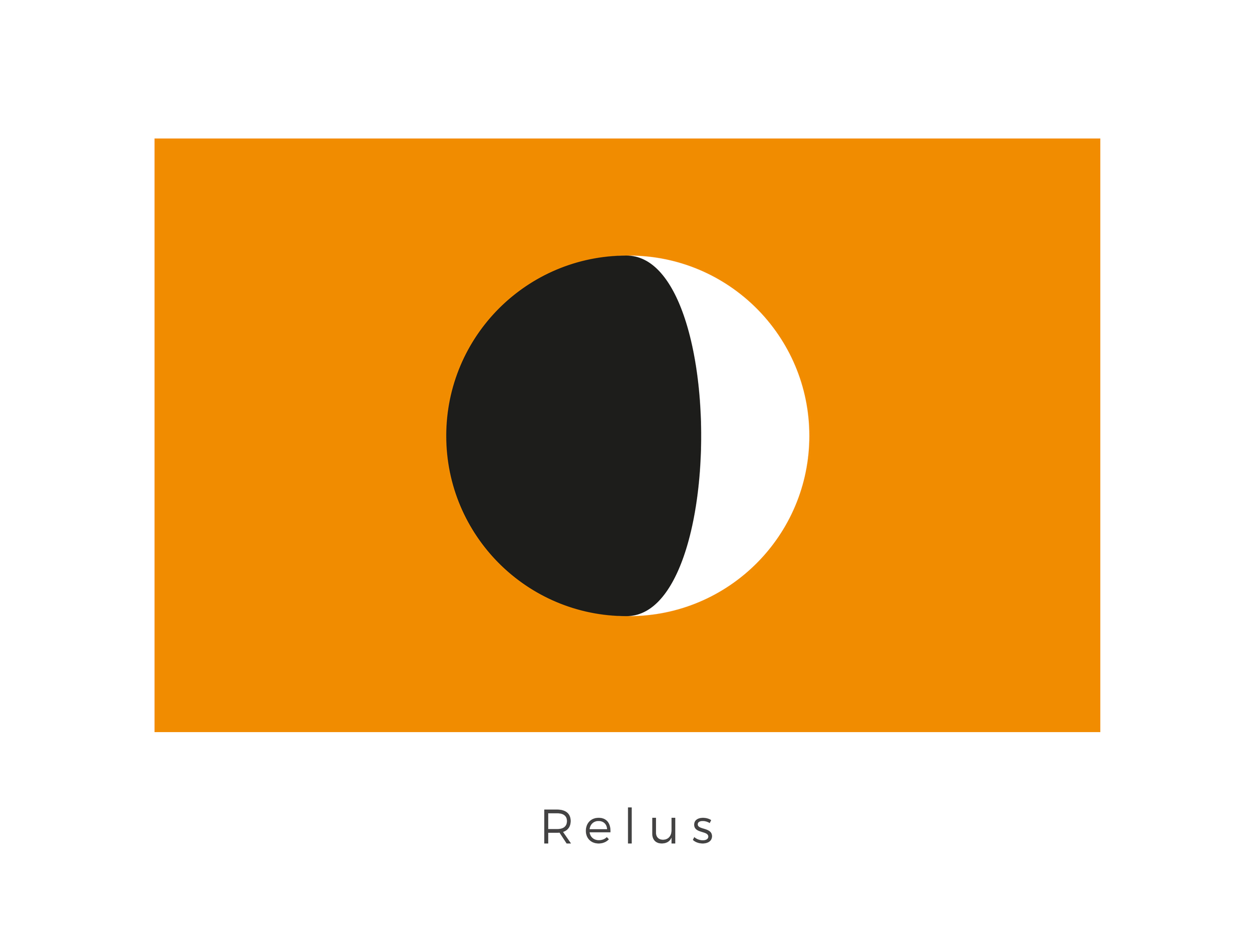 Relus  was the fourth planet of the Beshqek system, located within the Deep Core. It was one of two terrestrial planets in the system and was orbited by a single moon. After the cataclysmic destruction of Relus's neighboring planet, Byss, in 11 ABY, the artificial Byss Run hyperlane connecting the Beshqek system to the Core Worlds began to collapse. The orange of the flag was adopted after the destruction of Byss in a sign of solidarity with its people. The eclipsing orb graphic (common among flag designs of the galaxy) is black and white, the traditional colours of Relus.