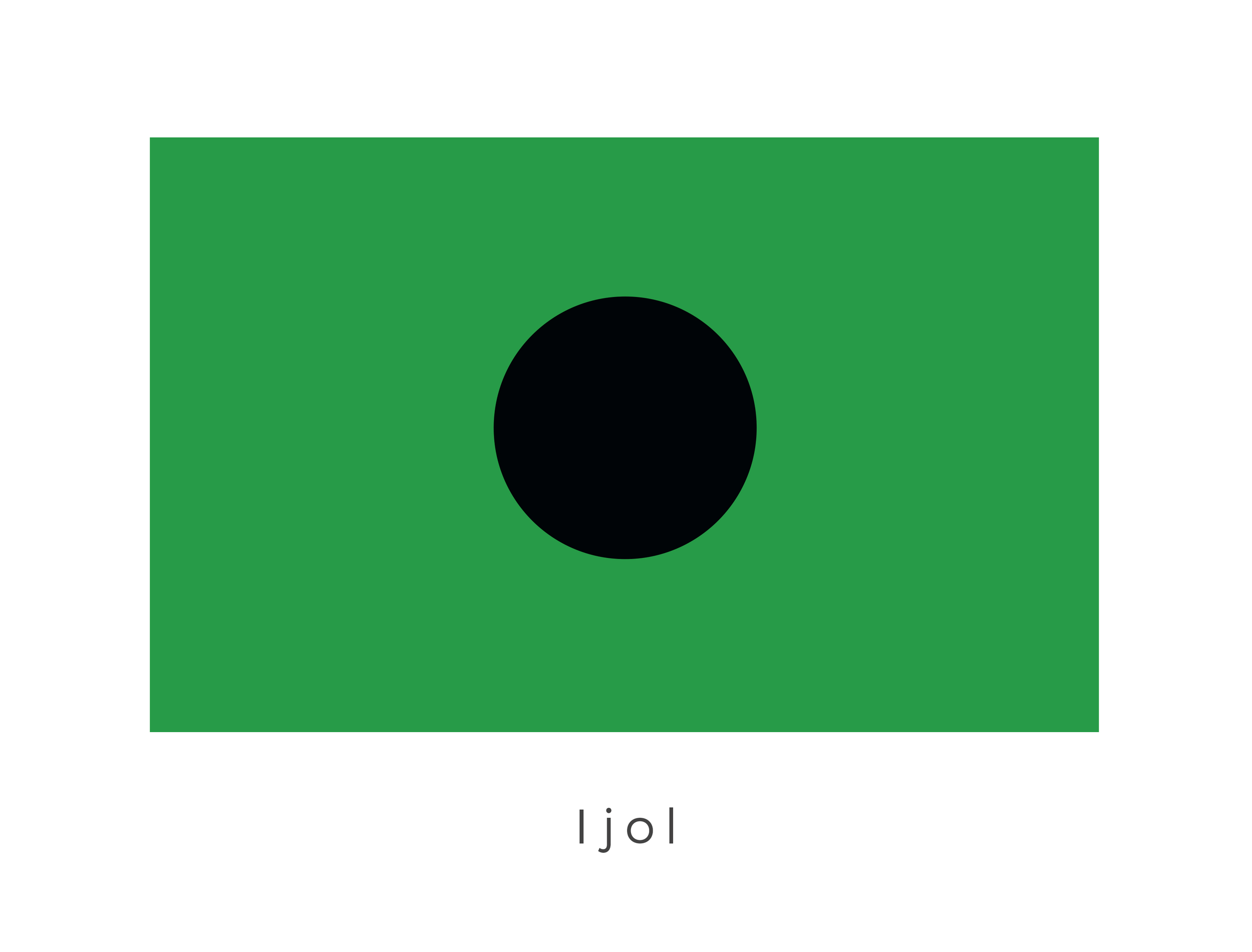 Ijol  was the fourth planet in the Tirahnn system of the Inner Rim Territories. The black orb in the centre of a deep green signifies the planets inhospitable terrain which was made up of mostly toxic gases.