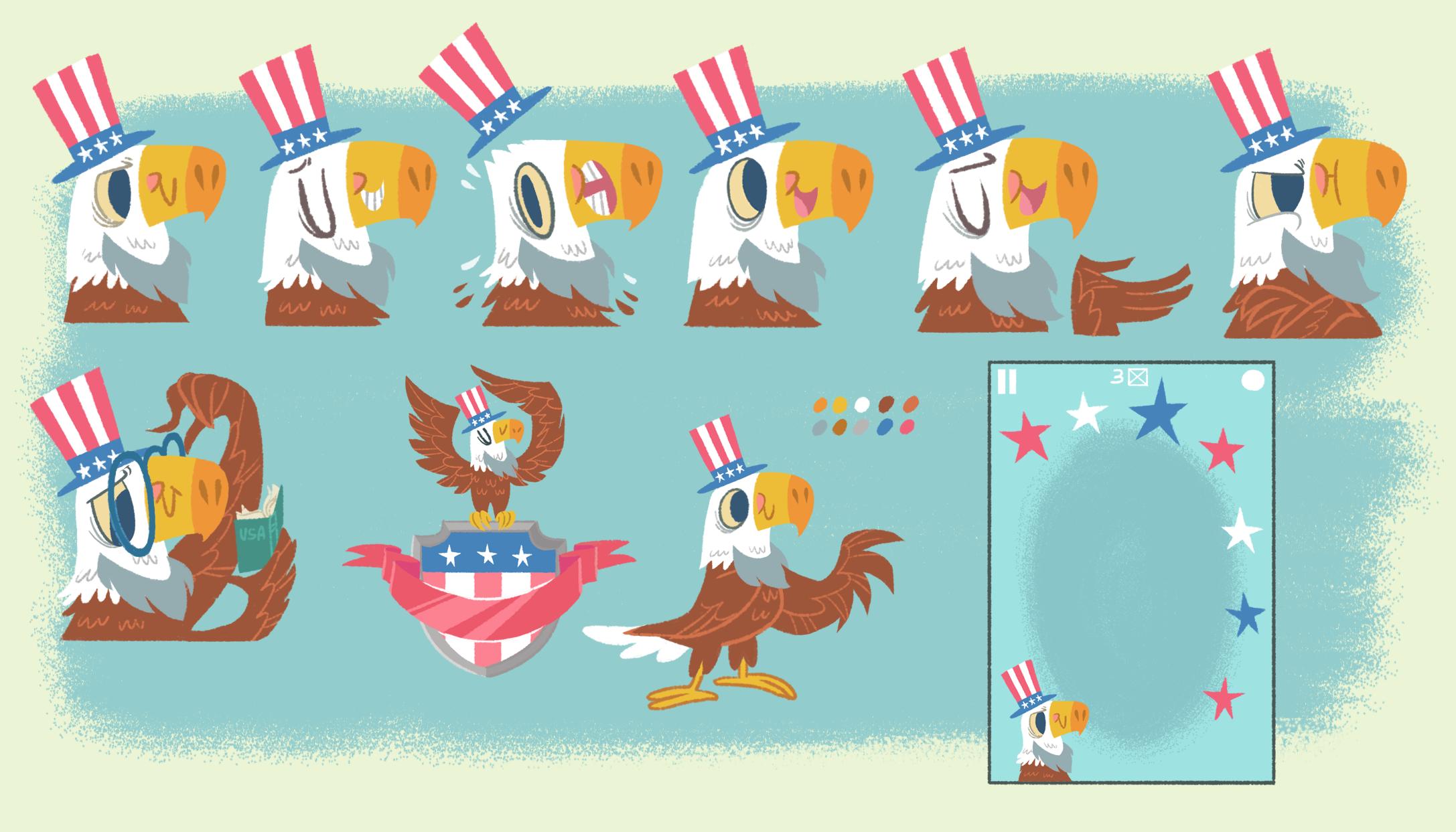 Game Mascot Concepts