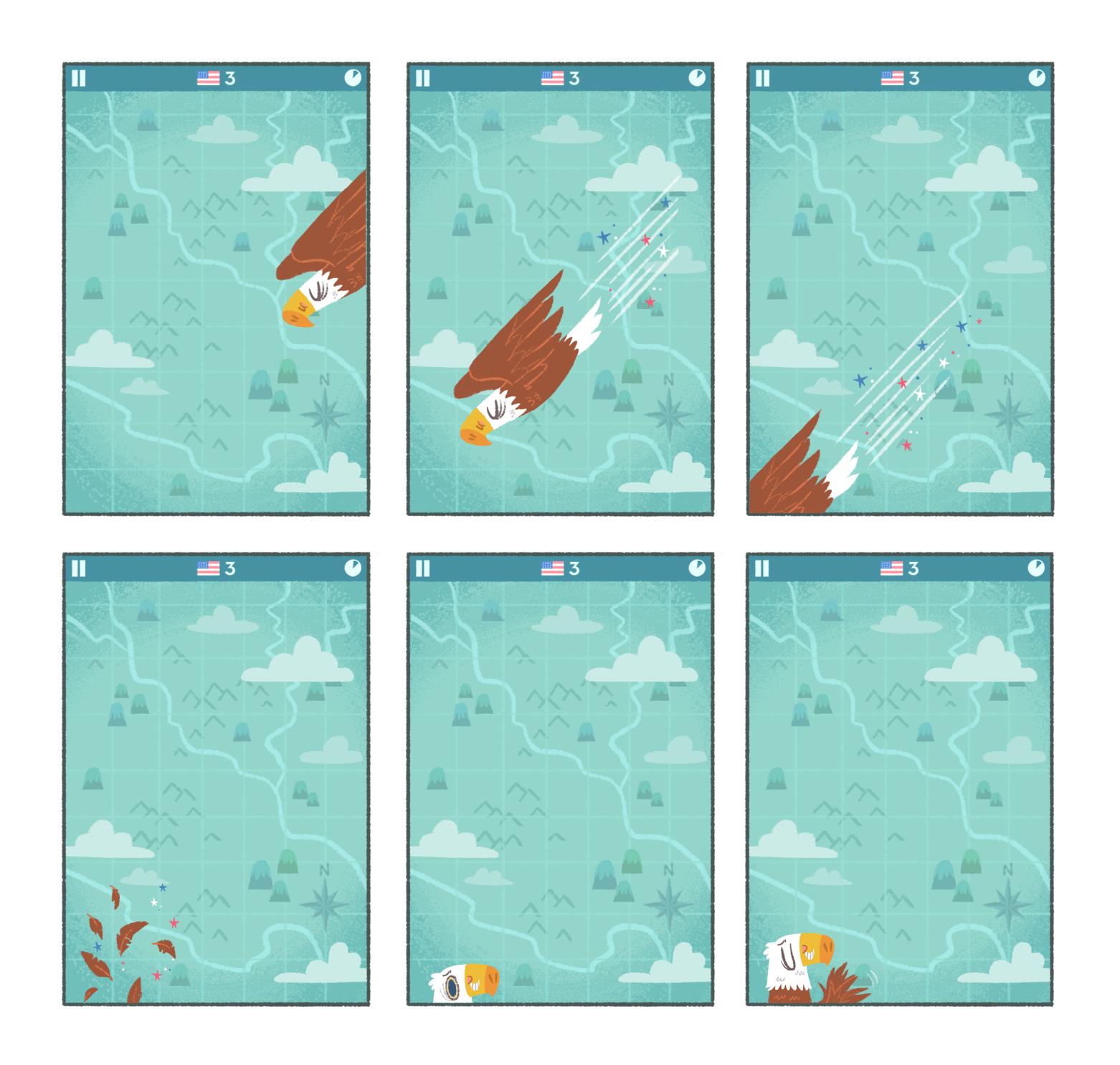 Game Intro Storyboard