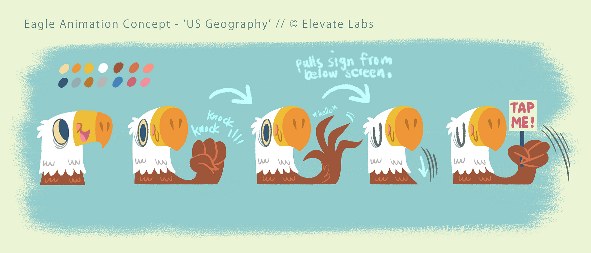 Mascot Idle Animation Concept