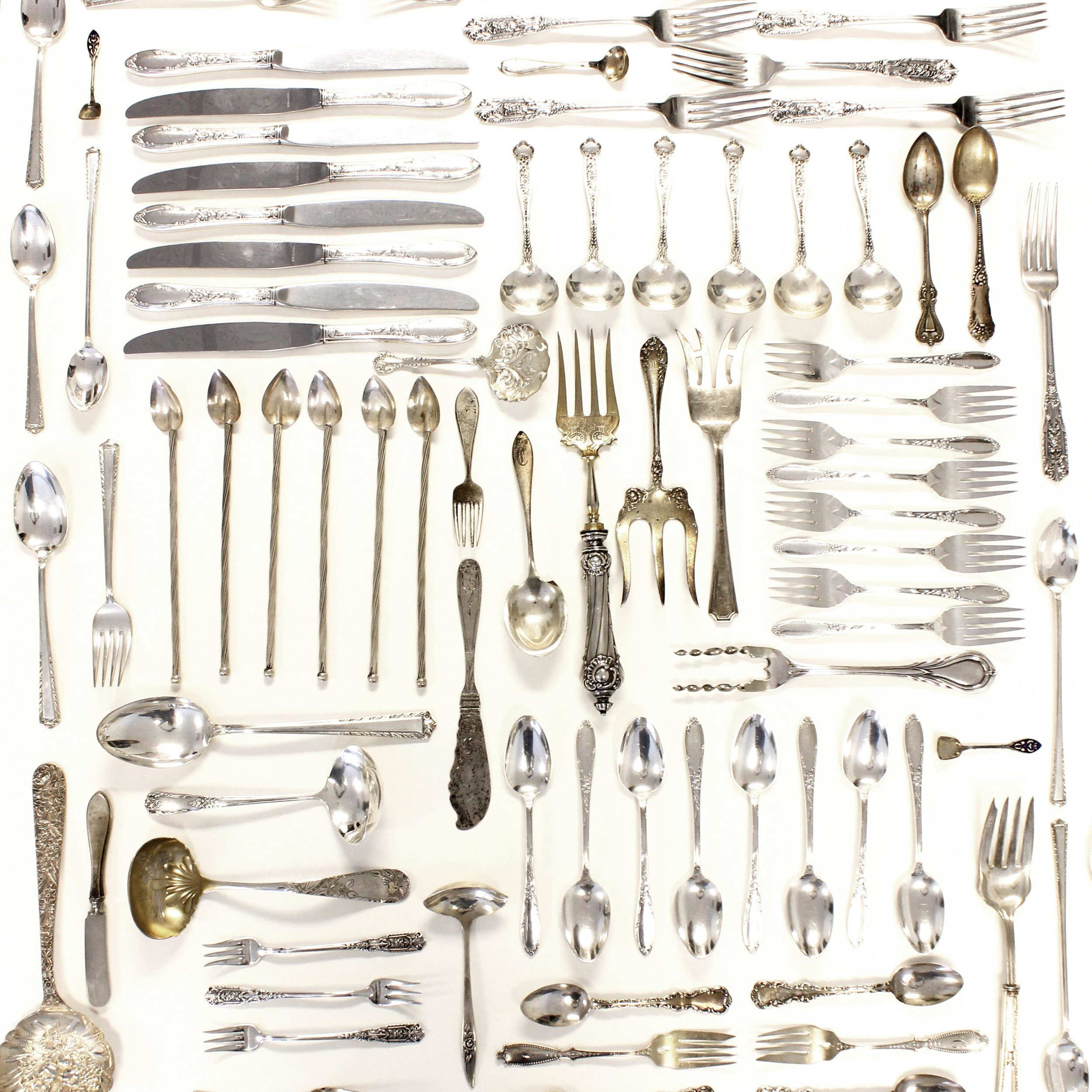 Sterling Silver Flatware & Holloware