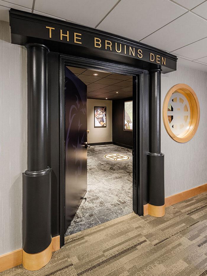 Bruins Den Entrance