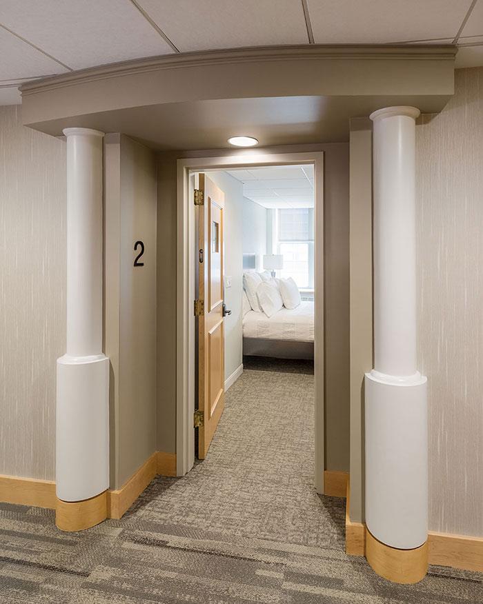 Guest Suite Entrance