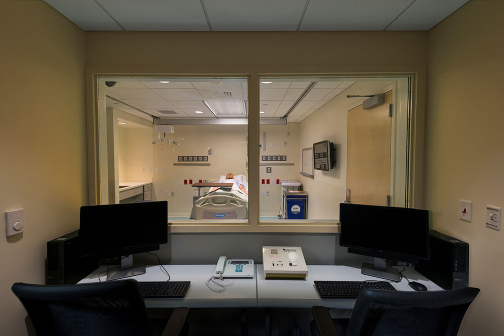 View into Simulation Lab