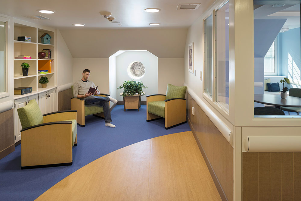 Seating Area Adjacent to Nurse Station