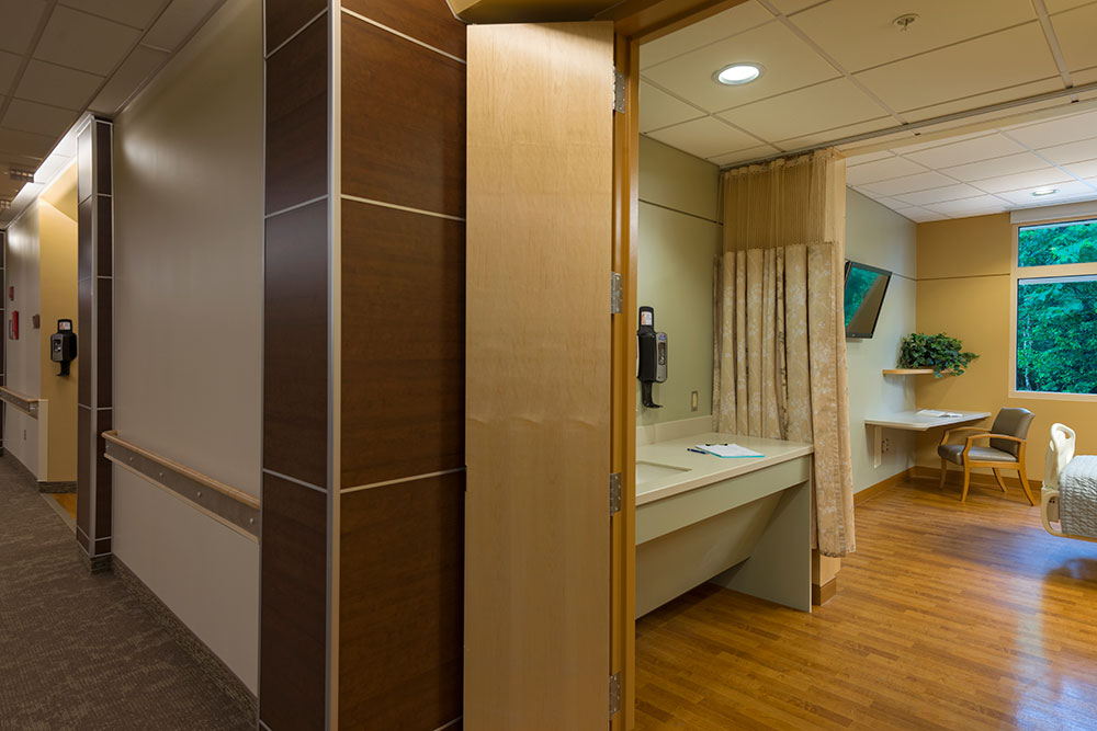View into Patient Room