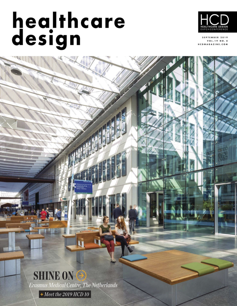 Healthcare Design Magazine  - September 2019  Face Time:  LILLIANA ALVARADO