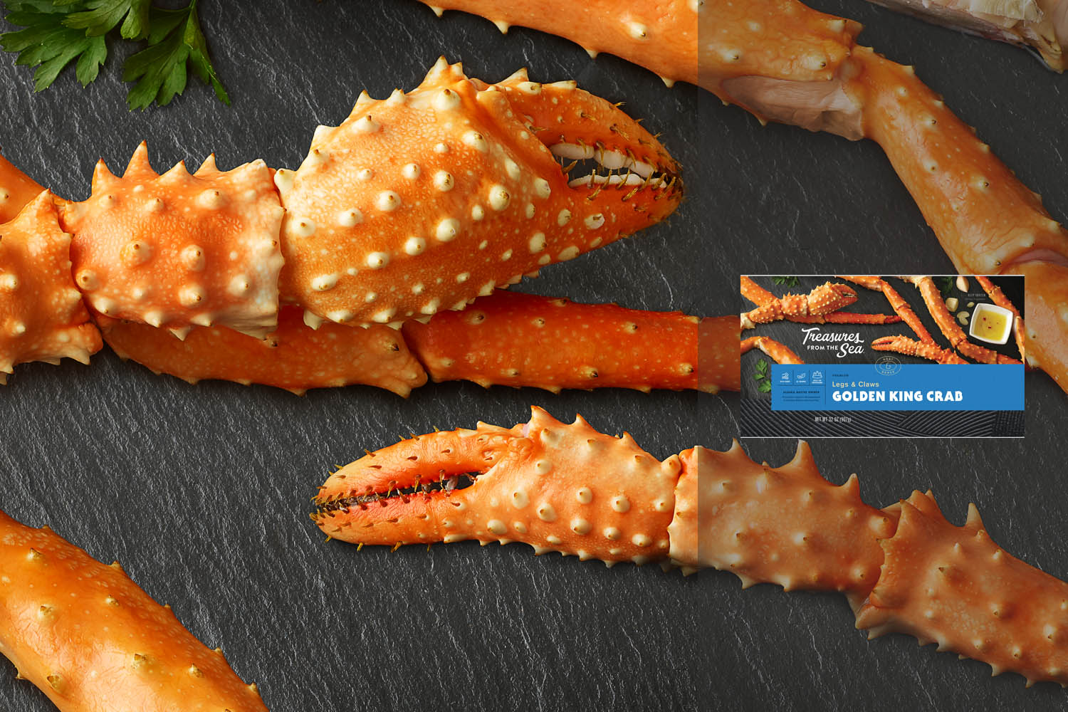 GOLDEN KING CRAB  LEGS & CLAWS