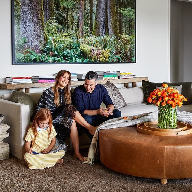 Step Inside Jessica Alba's Haven in Los Angeles - Architectural Digest