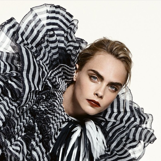 The Many Faces of Cara Delevingne - Elle UK
