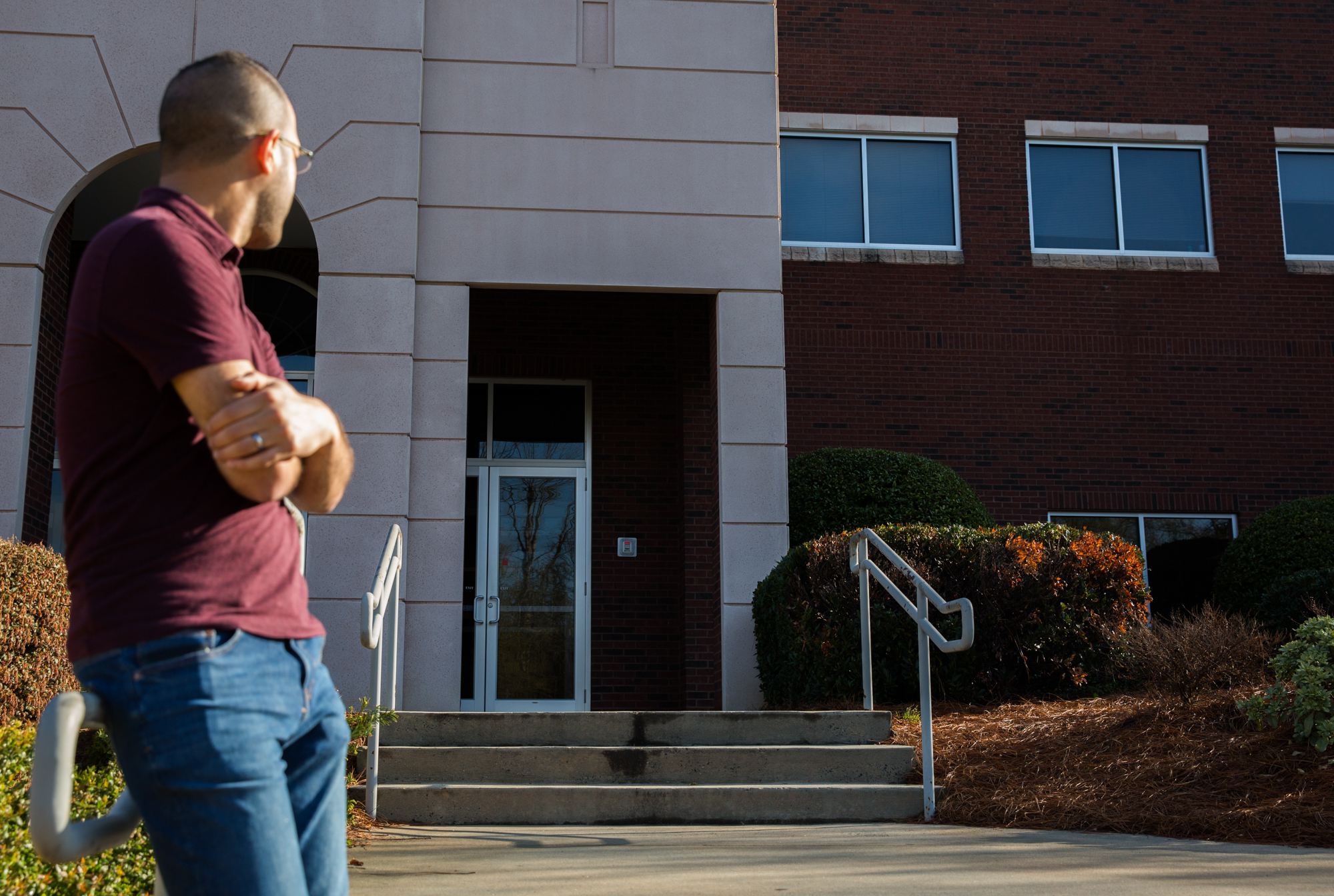 "On March 28, Mendoza had to go to the Department of Homeland Security in Charlotte for his Immigration and Customs Enforcement (ICE) check-in.  Although Mendoza has done nothing wrong and prepared all documents, there was a small chance that, during the check-in, he could be detained.  Vargas accompanied him for emotional support, but had to wait outside in anticipation as he was not allowed inside the building with Mendoza during the check-in.  Vargas was nervous during his husband's check-in, saying that last time ""only took five minutes.  I don't know why it's taking this long, but I'm just waiting for him to text me.  There were a lot of people in there."""