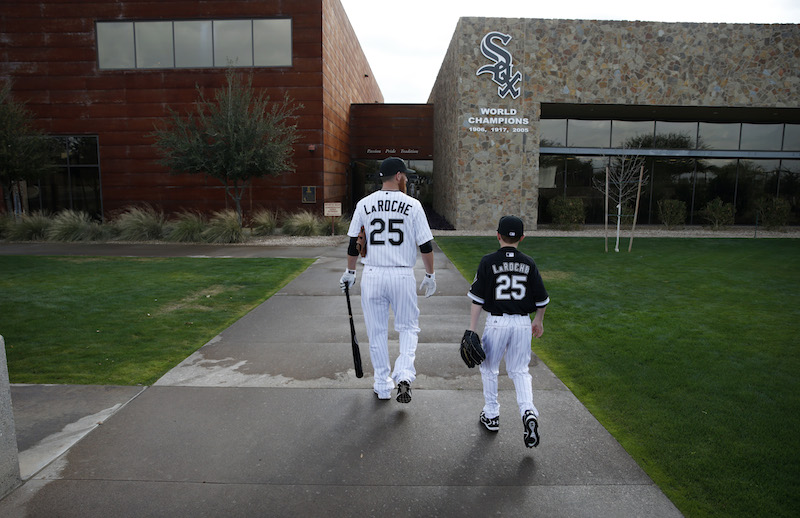 MLB Player Adam LaRoche is the first player in history to retire after the Chicago White Sox asked him not to bring his son to the club house everyday.I gotta give it to Adam, Family is Everything but at the same time you need to make a living to take care your family. Good thing he made Bank and can make decisions like this!