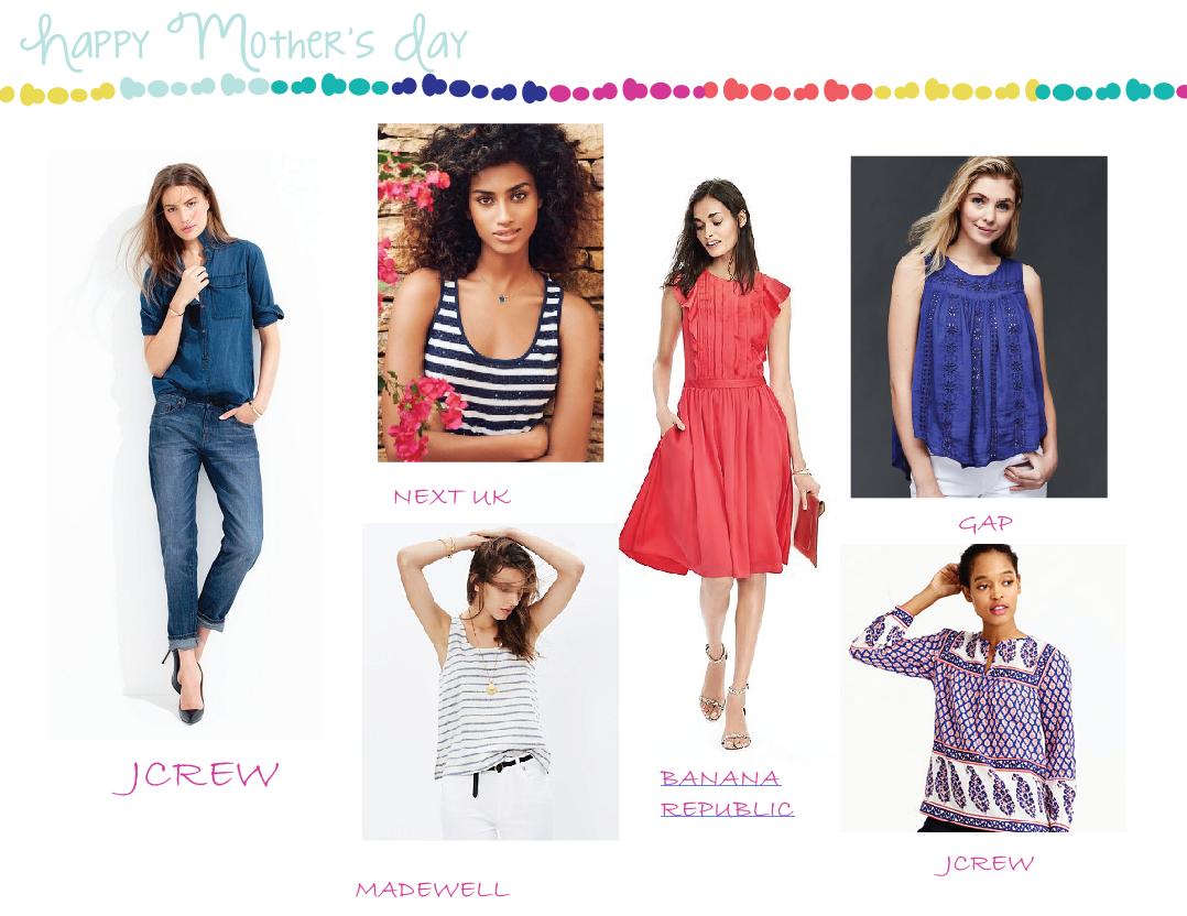 Thank God It's Friday!!! Celebrate Mother's Day in theses casual Spring Nautical looks!!