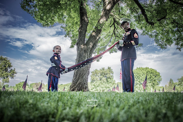 We would like to say THANK YOU to all the Men and Women who served and are still serving our country. May all you enjoy this Memorial Day!   God Bless America!  By Danny Reyes  Photo by Corbett W. Smith/HastingsPhotography
